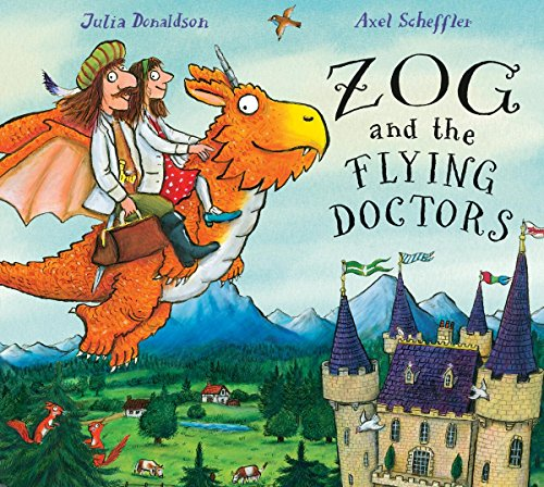 9781338134179: Zog and the Flying Doctors