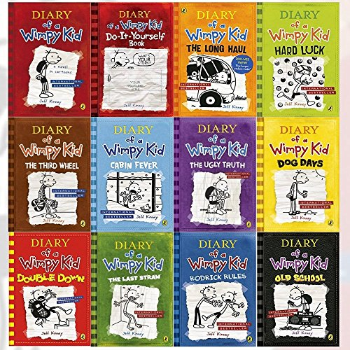 Diary of a Wimpy Kid Collection Books 1-11
