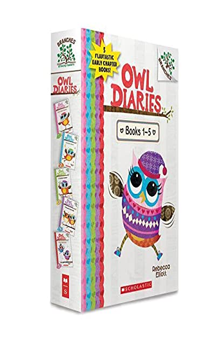 9781338144314: Owl Diaries, Books 1-5: A Branches Box Set