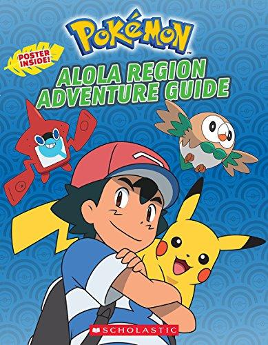 POKEMON: Alola Region Adventure Guide (Paperback)