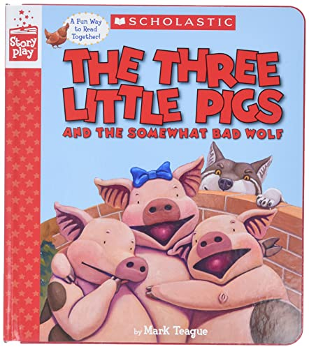 9781338157741: The Three Little Pigs and the Somewhat Bad Wolf (A StoryPlay Book)