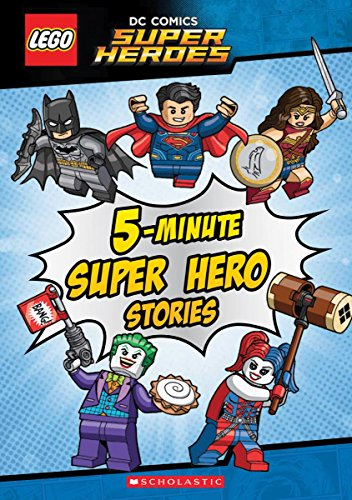 Lego Dc Super Heroes: Five-minute Lego Dc Comics Super Hero Stories