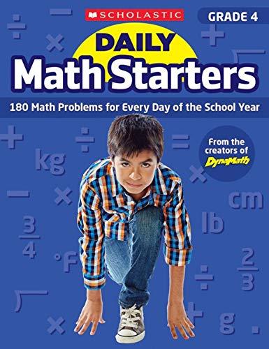 Daily Math Starters: Grade 4: 180 Math: Bob Krech