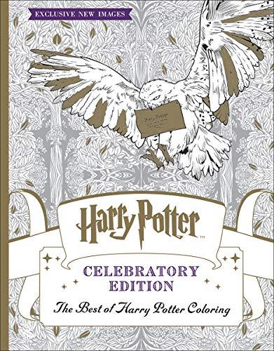 9781338166606: The Best of Harry Potter Coloring: Celebratory Edition (Harry Potter)