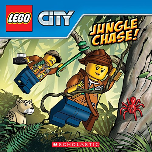 Jungle Chase! (Lego City) (Paperback)