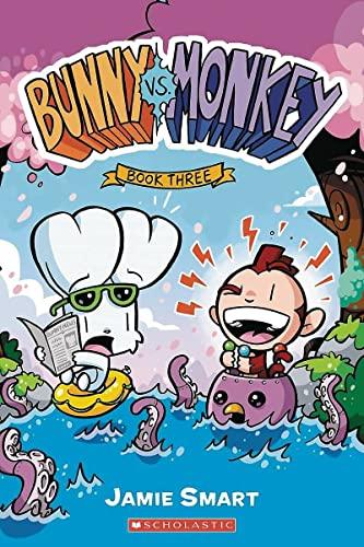 9781338176865: Bunny vs. Monkey: Book Three