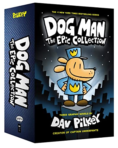 Dog Man: The Epic Collection: From the: Dav Pilkey