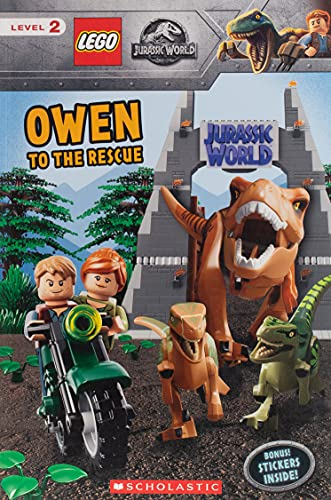9781338539202: Owen to the Rescue (Scholastic Readers, Level 2: Lego Jurassic World)