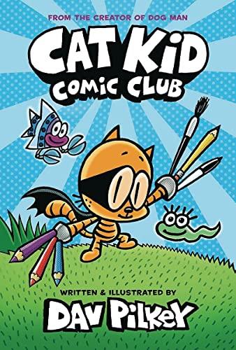 Book Cover: Cat Kid Comic Club