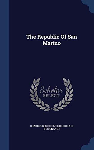 9781340136505: The Republic Of San Marino