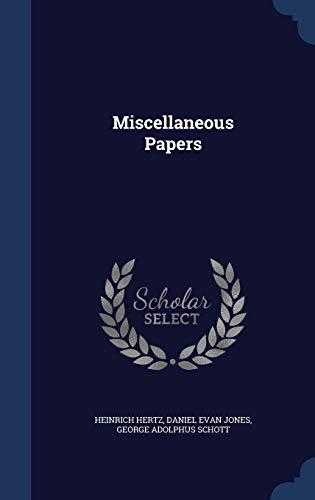 9781340162450: Miscellaneous Papers