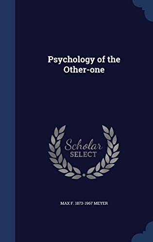 9781340211349: Psychology of the Other-One