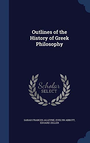 9781340381714: Outlines of the History of Greek Philosophy