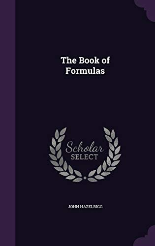 9781340588410: The Book of Formulas