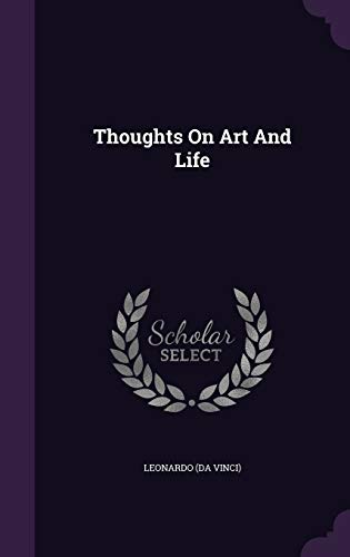 9781340634964: Thoughts on Art and Life