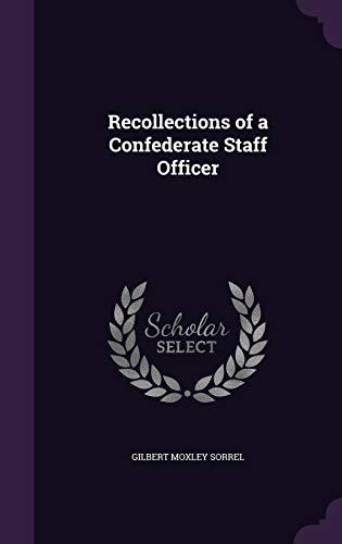 9781340658861: Recollections of a Confederate Staff Officer