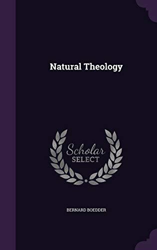 9781340735142: Natural Theology