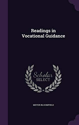 9781340765835: Readings in Vocational Guidance