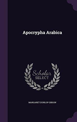 9781341045509: Apocrypha Arabica