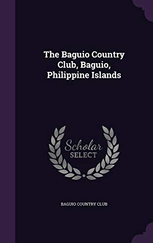9781341096297: The Baguio Country Club, Baguio, Philippine Islands