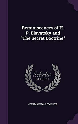 9781341172328: Reminiscences of H. P. Blavatsky and the Secret Doctrine