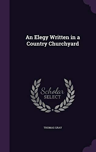 9781341323720: An Elegy Written in a Country Churchyard