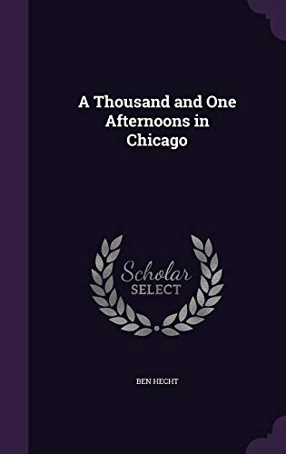 9781341355592: A Thousand and One Afternoons in Chicago