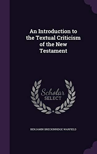 9781341367328: An Introduction to the Textual Criticism of the New Testament