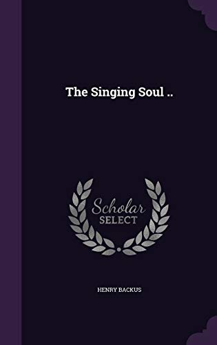 9781341454929: The Singing Soul