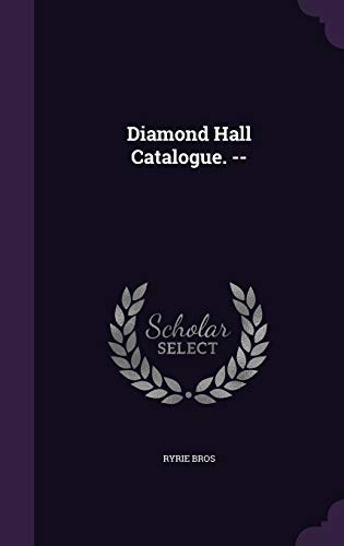 9781341799365: Diamond Hall Catalogue. --