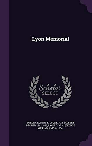 9781342131164: Lyon Memorial