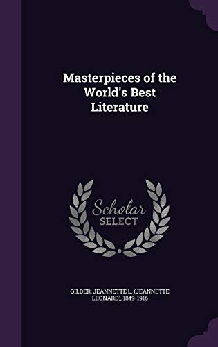9781342150622: Masterpieces of the World's Best Literature