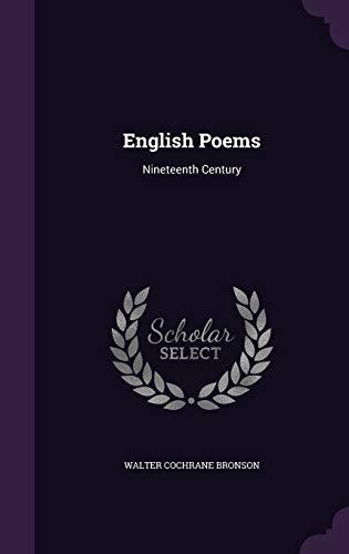9781342535252: English Poems: Nineteenth Century