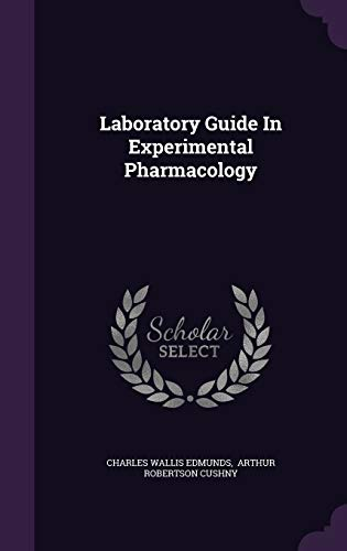 9781342551313: Laboratory Guide In Experimental Pharmacology