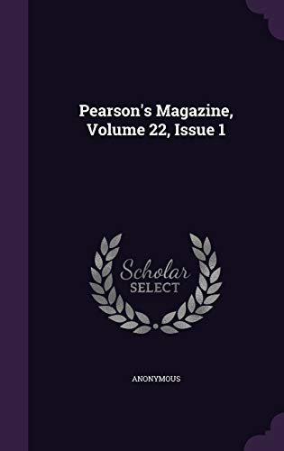 9781343000582: Pearson's Magazine, Volume 22, Issue 1