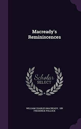 9781343016088: Macready's Reminiscences
