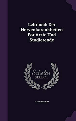 9781343060050: Lehrbuch Der Nervenkarankheiten For Arzte Und Studierende