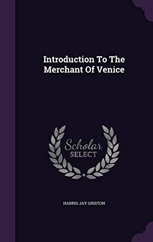 9781343099722: Introduction to the Merchant of Venice