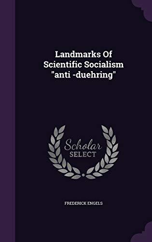 "9781343143753: Landmarks Of Scientific Socialism ""anti -duehring"""