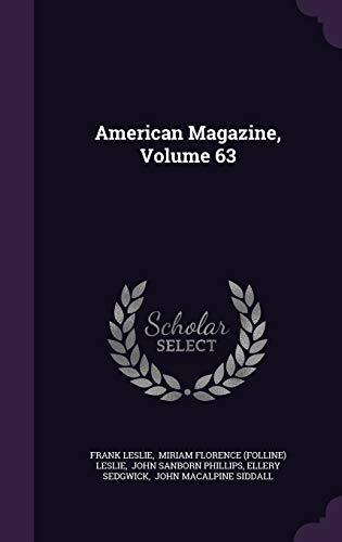 9781343275430: American Magazine, Volume 63