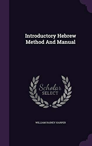 9781343277922: Introductory Hebrew Method And Manual