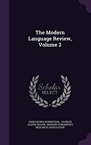 9781343346123: The Modern Language Review, Volume 2