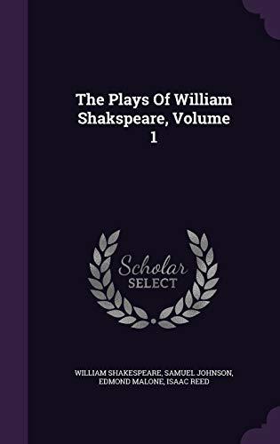 9781343442771: The Plays Of William Shakspeare, Volume 1
