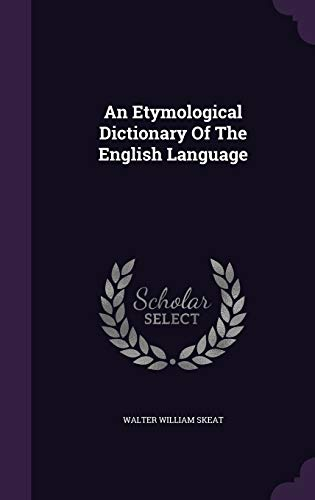 9781343448735: An Etymological Dictionary Of The English Language