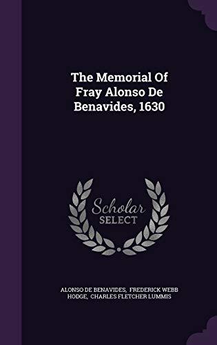 9781343477902: The Memorial Of Fray Alonso De Benavides, 1630