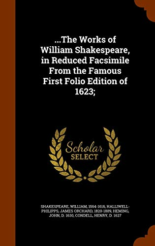 the Works of William Shakespeare, in Reduced: Shakespeare, William