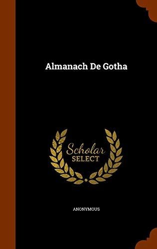 9781343707719: Almanach De Gotha