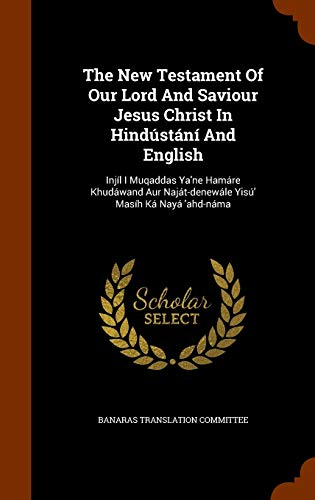 The New Testament of Our Lord and: Banaras Translation Committee