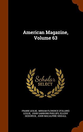 9781344877329: American Magazine, Volume 63