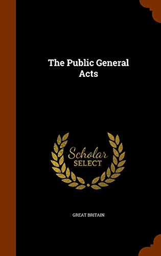 9781345279344: The Public General Acts